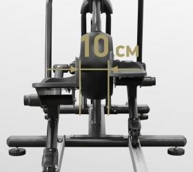 BRONZE GYM PRO GLIDER Эллиптический тренажер - Q-фактор 10 см.