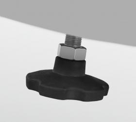 BRONZE GYM X901 PRO Эллиптический эргометр - Компенсаторы неровностей пола