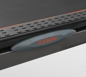BRONZE GYM T812 LC Беговая дорожка - Амортизационные динамические подушки flexGYM™