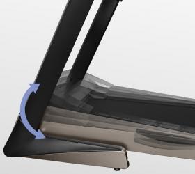 OXYGEN WIDER T25 Беговая дорожка - Электрически изменяемый угол наклона от 0 до 18%