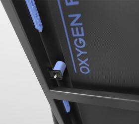 OXYGEN RIVIERA IV AL Беговая дорожка - Связка из 4-ех динамических подушек (dualFLEX™) и 2-ух профессиональных эластомеров VCS™