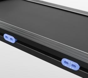 OXYGEN QUANTA II AL HRC Беговая дорожка - Двойная рама и 4 динамические подушки dualFLEX™