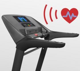 OXYGEN QUANTA II AL HRC Беговая дорожка - Встроенный в консоль беспроводной приемник частоты сердечного пульса
