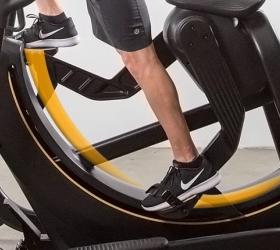 Matrix S-FORCE Performance Trainer - Уникальная траектория движений: пользователь сам определяет длину шага, которая может достигать 91 см.