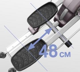 OXYGEN ELC Эллиптический тренажер - Длина шага 48 см