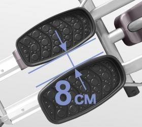 OXYGEN ELC Эллиптический тренажер - Супермалый Q-фактор 8 см.
