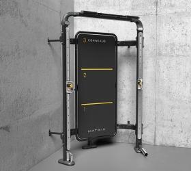 MATRIX CONNEXUS COMPACT (GFTCOR) Комплекс функционального тренинга, крепление к стене - Идеальное решение для полноценной тренировки в неиспользуемых углах