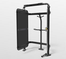 MATRIX CONNEXUS COMPACT (GFTCOR) Комплекс функционального тренинга, крепление к стене - Занимает минимум места, предоставляет массу возможностей