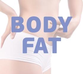 OXYGEN ELC Эллиптический тренажер - Режим жироанализатора Body Fat для определения комплекции организма
