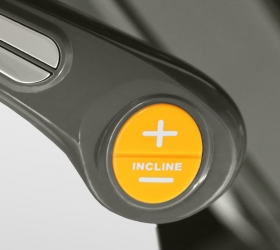 Кнопки быстрого доступа к изменению режимов скорости и наклона