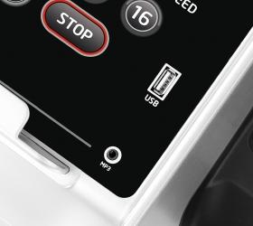 OXYGEN F-STYLE T86 SUPER DURABLE Беговая дорожка - USB вход для прослушивания музыки и зарядки мобильного устройства