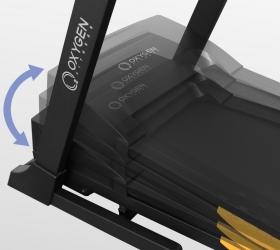 OXYGEN F-STYLE T86 SUPER DURABLE Беговая дорожка - Автоматически изменяемый угол наклона от 0 до 15%