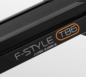 OXYGEN F-STYLE T86 SUPER DURABLE Беговая дорожка - Прочный каркас с основой из двойной рамы