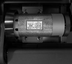 OXYGEN F-STYLE T86 SUPER DURABLE Беговая дорожка - Надежный, проверенный временем двигатель японской Fuji Electric мощностью 3.25 л.с.