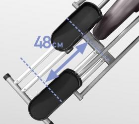 OXYGEN GX-75 HRC Эллиптический эргометр - Длина шага 48 см