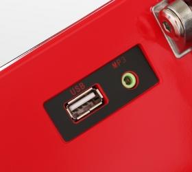 OXYGEN M-CONCEPT SPORT Беговая дорожка - USB/AUX вход для вывода аудио файлов на динамики 3 Ватта