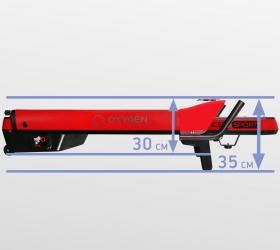 OXYGEN M-CONCEPT SPORT Беговая дорожка - Толщина тренажера в сложенном виде составляет всего 35 см. (или 30 см. при условии снятия небольших поручней)