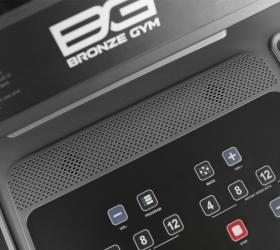 BRONZE GYM T950 PRO BLACK HAWK Беговая дорожка - Мультимедийная компонента