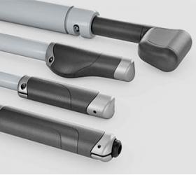 Несколько видов сверхэргономичных рукояток Action Specific Grips™.