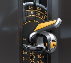 MATRIX ULTRA G7-S34-02 Гребная тяга - Уникальный механизм тонкой регулировки начальной нагрузки