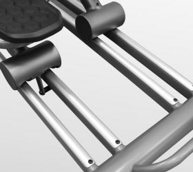 BRONZE GYM XR812 LC Эллиптический эргометр - Усиленные парные алюминиевые направляющие