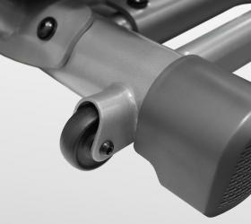 BRONZE GYM XR812 LC Эллиптический эргометр - Транспортировочные ролики