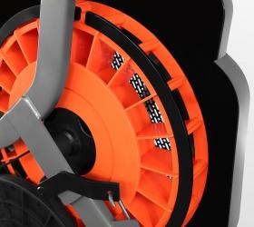 BRONZE GYM XR812 LC Эллиптический эргометр - Электромагнитная система нагружения с дополнительным аэродинамическим сопротивлением EMS airFLOW™