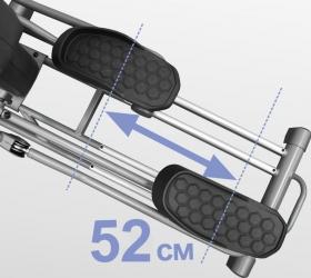BRONZE GYM XR812 LC Эллиптический эргометр - Длина шага 52 см.