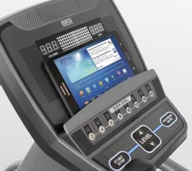 BRONZE GYM XE902 PRO Эллиптический тренажер - Подставка под планшет