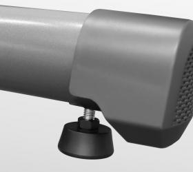 BRONZE GYM X802 LC Эллиптический эргометр - Компенсаторы неровностей пола