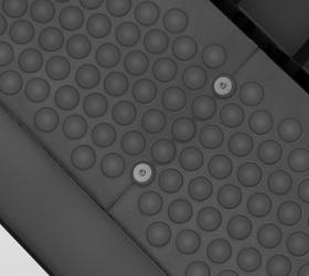 BRONZE GYM GL Беговая дорожка - Прорезиненные накладки на деку для лучшей устойчивости