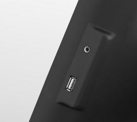BRONZE GYM T1120 PRO Беговая дорожка - USB вход для воспроизведения аудио и AUX OUT для наушников