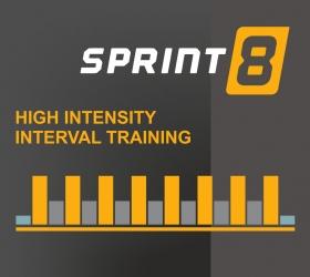 MATRIX T7XE (T7XE-04) Беговая дорожка - Уникальная интервальная программа Sprint 8, разработанная знаменитым спортсменом Филом Кэмпбеллом