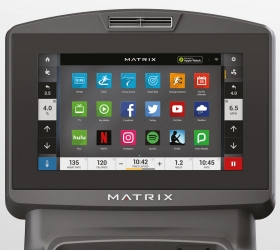 MATRIX T7XE (T7XE-04) Беговая дорожка - 16-ти дюймовый сенсорный TFT-LCD дисплей Vista Clear™ на ОС Android с WI-FI доступом к различным интернет приложениям