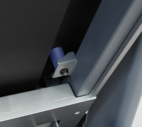 OXYGEN TECHNO T10 Беговая дорожка - Одно из лучших амортизационных решений - динамические эластомеры VCS™, именно такие стоят на дорожках в клубах