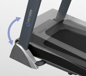 OXYGEN TECHNO T10 Беговая дорожка - Электрически изменяемый угол наклона от 0 до 15%, этого достаточно для большинства задач