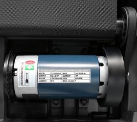 OXYGEN TECHNO T10 Беговая дорожка - Надежный, проверенный временем двигатель японской Fuji Electric мощностью 3.0 л.с. (постоянный ток)