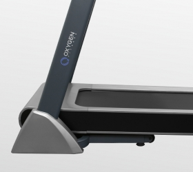 OXYGEN TECHNO T10 Беговая дорожка - Моторный отсек находится на одном уровне с рамой деки и выглядит как единое целое