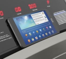 OXYGEN TECHNO T10 Беговая дорожка - Подставка под планшет