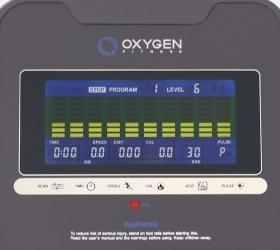 OXYGEN EX-56 HRC Эллиптический тренажер - Цветной LCD дисплей