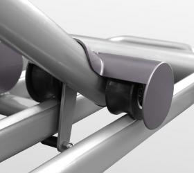 OXYGEN EX-56 HRC Эллиптический тренажер - Сдвоенные полиуретановые ролики