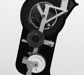 OXYGEN EX-56 HRC Эллиптический тренажер - Элементы электромагнитной приводной системы magicFLOW™ VERTICAL PLUS