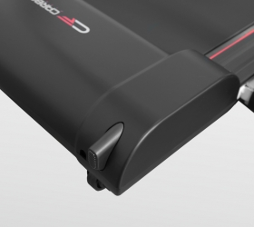 CARBON T200 SLIM Беговая дорожка - Дополнительные опоры для устойчивости в вертикальном положении