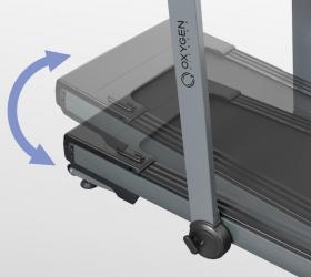 OXYGEN T-COMPACT B Беговая дорожка - Электрически изменяемый угол наклона от 0 до 15%
