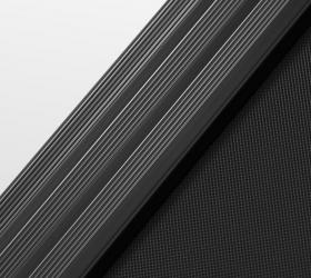 OXYGEN T-COMPACT B Беговая дорожка - Антискользящие рифленые боковые направляющие