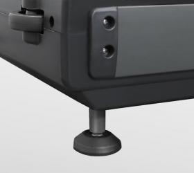 OXYGEN T-COMPACT A Беговая дорожка - Передние ножки для устойчивого положения и транспортировочные ролики