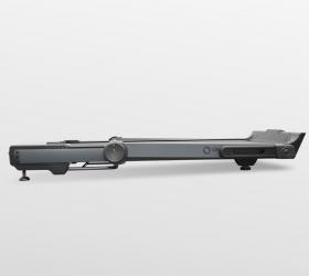 OXYGEN T-COMPACT A Беговая дорожка - В сложенном виде толщина тренажера составляет 22 см. Моторный отсек находится на одном уровне с рамой деки и выглядит как единое целое