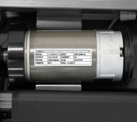 OXYGEN T-COMPACT A Беговая дорожка - Двигатель от японского производителя Fuji Electric мощностью 2.25 л.с.