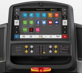 MATRIX T3XE (T3XE-05) Беговая дорожка - 16-ти дюймовый сенсорный TFT-LCD дисплей Vista Clear™ на ОС Android с WI-FI доступом к различным интернет приложениям