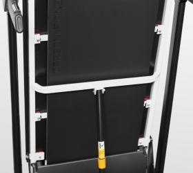 CARBON FITNESS T500 Беговая дорожка домашняя - Амортизация на основе 8-ми плоских эластомеров Natural™